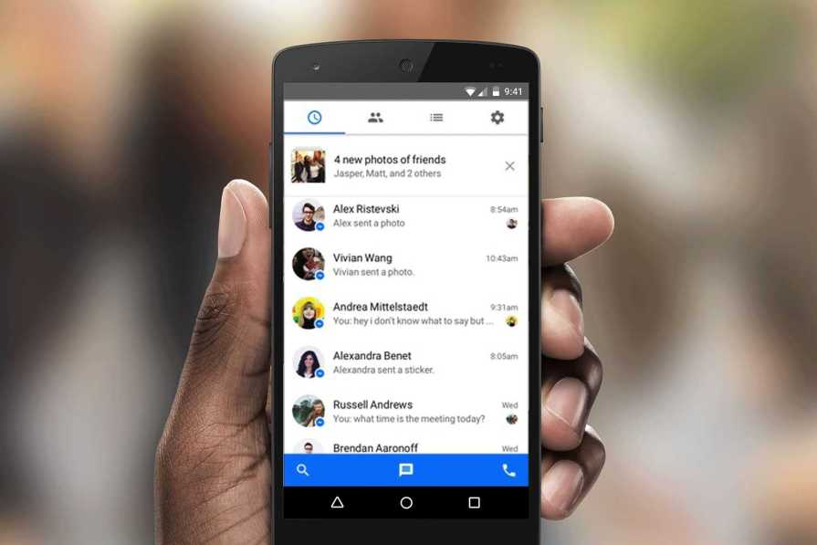 Facebook Messenger Re-Introduces SMS Support for Its Android Users