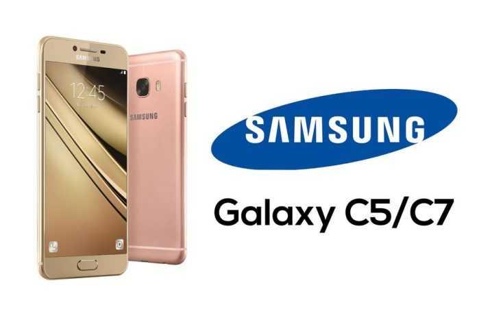 Samsung Galaxy C5 and Galaxy C7