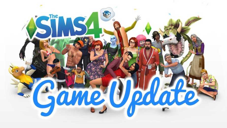 The Sims 4 update