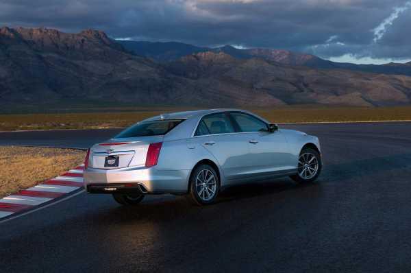 2017 Cadillac CTS rear