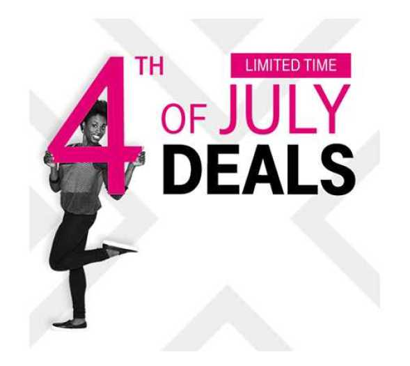 T-Mobile Galaxy S7 Fourth July Deals