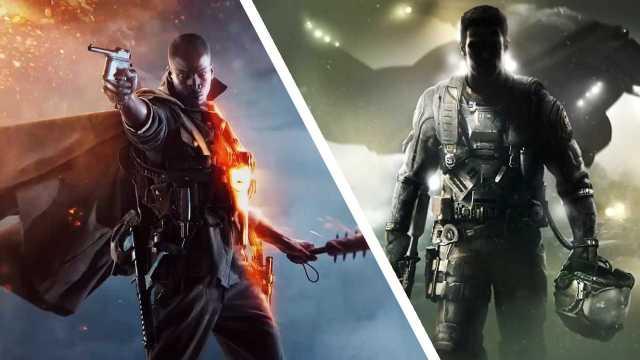 Call of Duty Modern Warfare Compete Battlefield 1