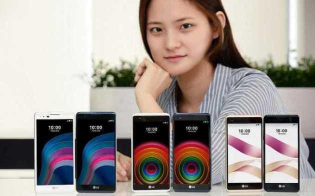LG X5 and LG X Skin in South Korea