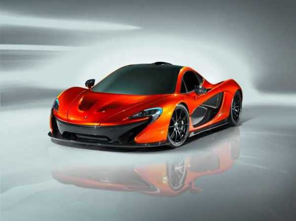 McLaren F1 hypercar