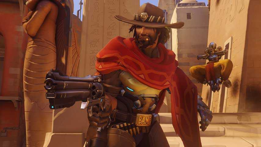Overwatch PC Version Buffs Ana