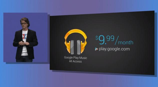 Google Play Music All Acess