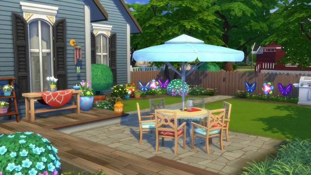 Sims 4 Backyard Stuff DLC