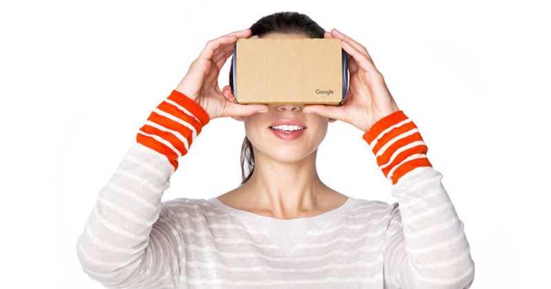 VR-based Google Chrome for Android