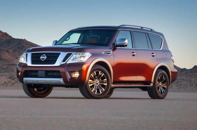 2017 Nissan Armada front