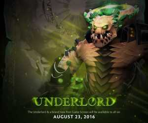 Dota 2 Gets New Hero Underlord And New Post Game UI On Aug 23rd