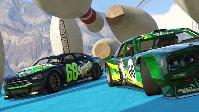 GTA 5 Online Gets Entourage Mode And Track Creator For Stunt Racing
