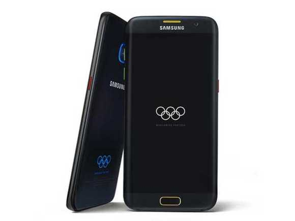 Galaxy S7 Edge Smartphones Olympic Games Edition