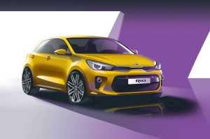 Kia Rio For Paris Auto Show
