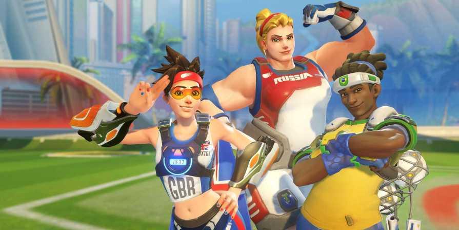 Overwatch Heroes Receive Olympic Skins