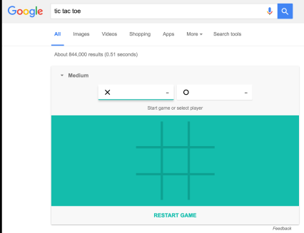Google Search Games