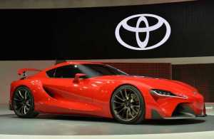 Toyota BMW Sports Car Production