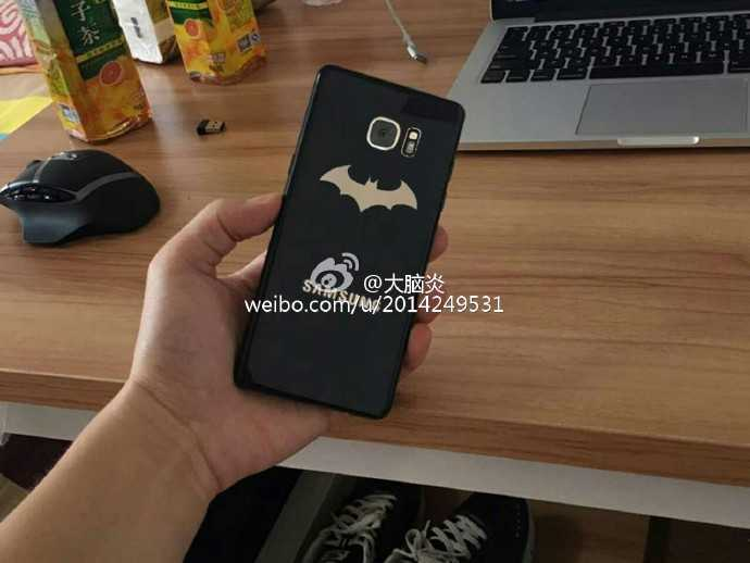 Galaxy Note 7 Injustice Edition