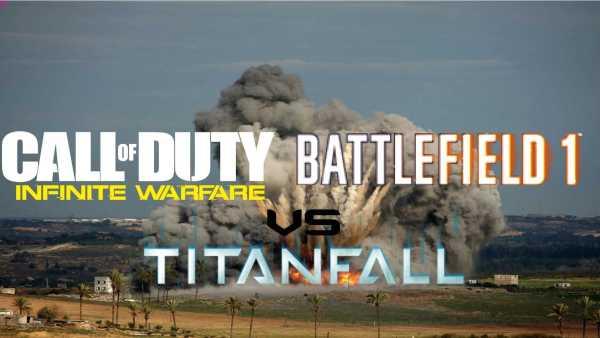 Battlefield 1 vs Titanfall 2 vs Infinite Warfare