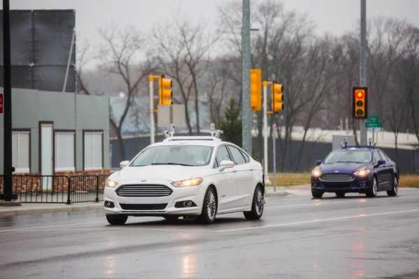 ford driverless cars