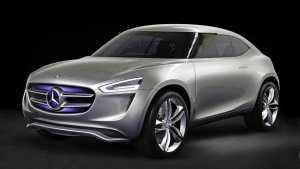 Mercedes Electric SUV Teaser