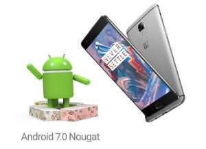 OnePlus 3 Nougat