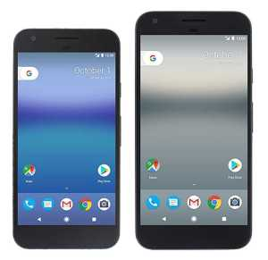 Pixel and Pixel XL Phones
