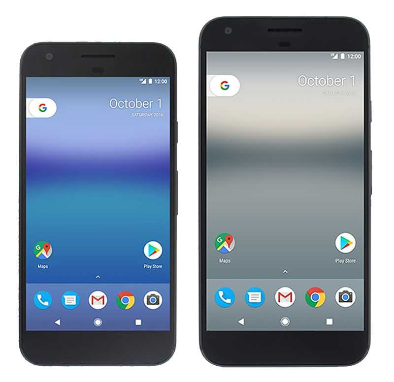 Pixel and Pixel XL Phones