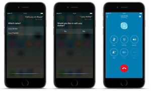 Skype 6.25 Bring in Siri to Make Calls