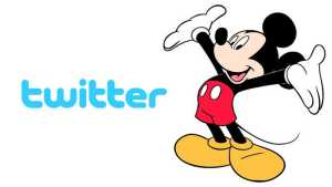 Twitter with Disney
