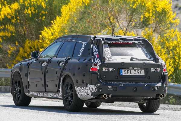 Volvo V90 Cross Country Teaser