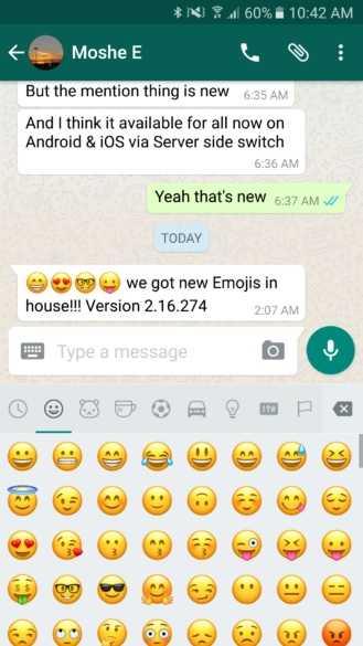WhatsApp 3D Emojis