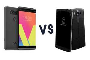 LG V20 vs LG V10