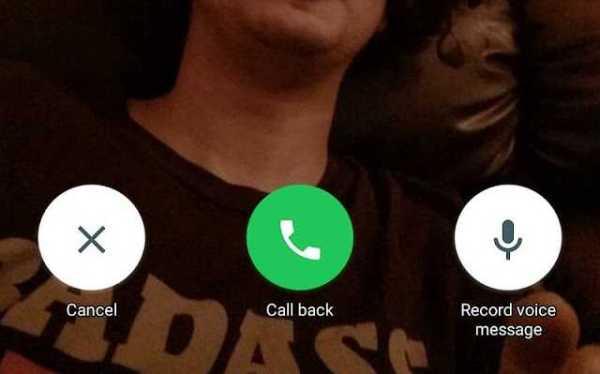 whatsapp voice mail