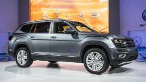 2018 VW Atlas in North America