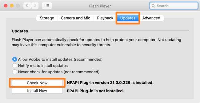 Adobe Flash Player Critical Update
