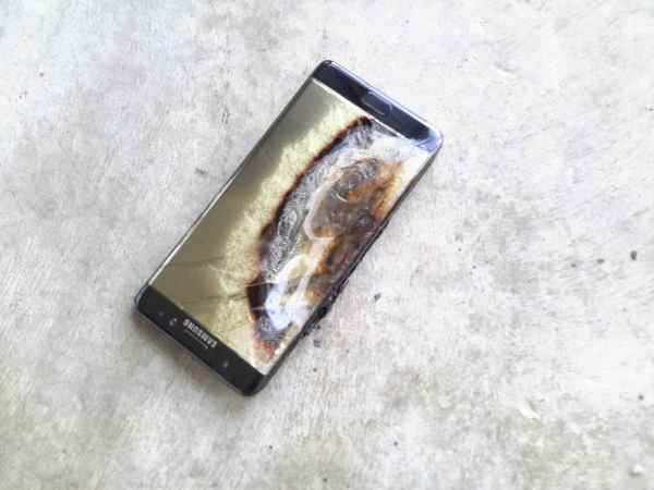Exploding Note 7