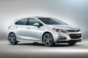Chevrolet Cruze RS Hatch Blue SEMA Launch