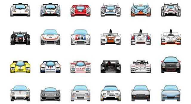 Emojis Porsche Cars for iOS 10