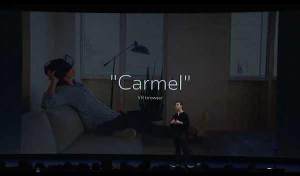 Facebook Carmel VR Browser