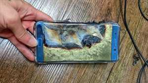Galaxy Note 7 Fire