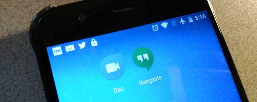 Google Duo Replaced Google Hangouts