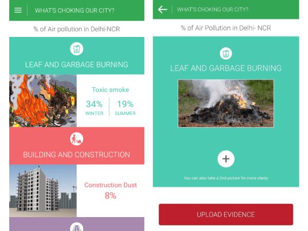 Hawa Badlo App Report Air Pollution