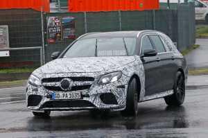Mercedes AMG E63 Have Drift Mode