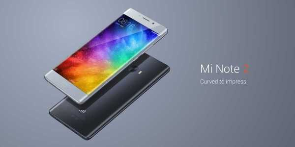 Mi Note 2 Curved 5.7 Inch Display