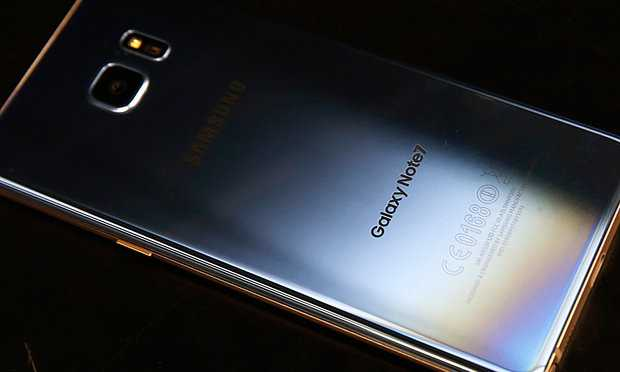 Note 7 issue