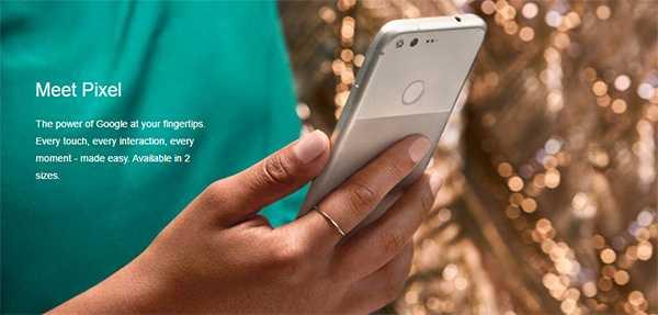 Pixel Phone Features