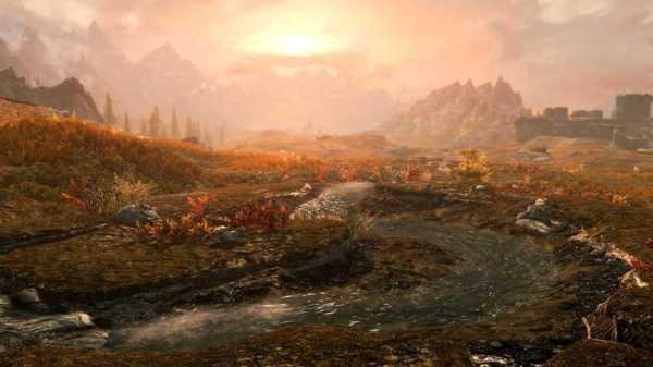 Skyrim Goes 4K on PS4 Pro