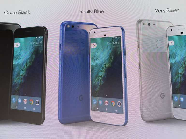 Google Pixel, Pixel XL and Google Project Fi