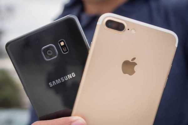 iphone 7 and galaxy note 7