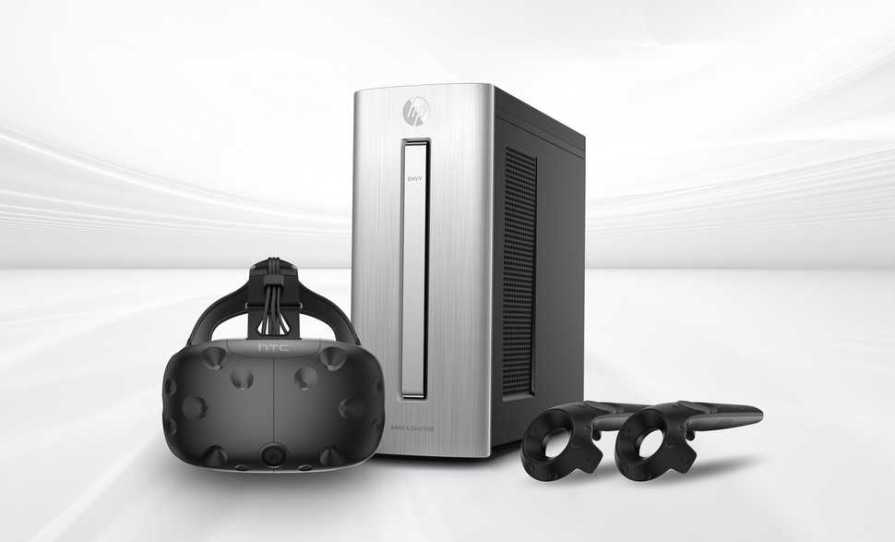 HTC Vive VR and HP Envy 750